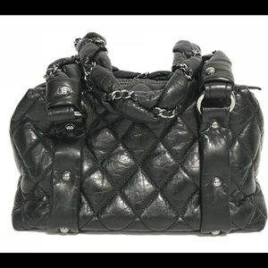Chanel Lady Braid Bubble Bowler Bag Small 68b4287223bcf